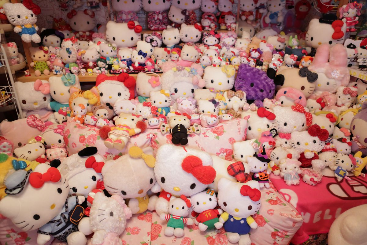 Retired Japanese Policeman Seaks Solace In World's Biggest Hello Kitty Collection