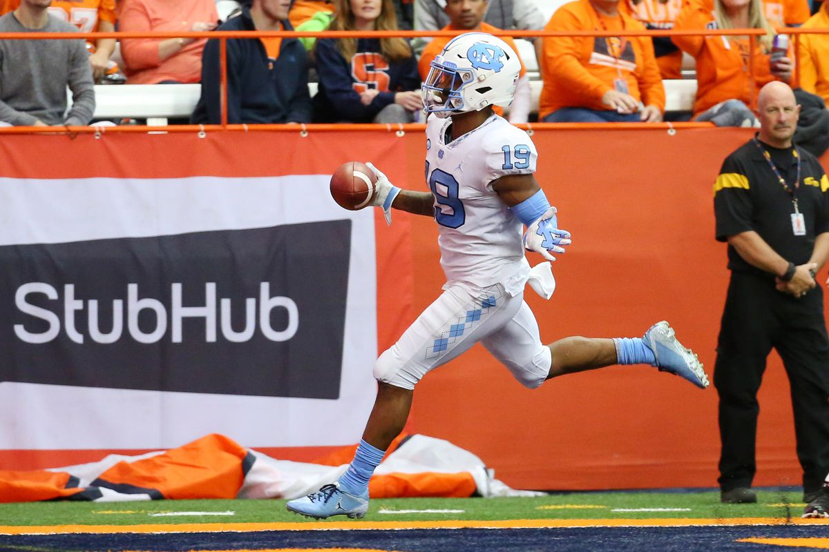 UNC Football vs. Syracuse - Player of the Game: Dazz Newsome - Tar Heel Blog