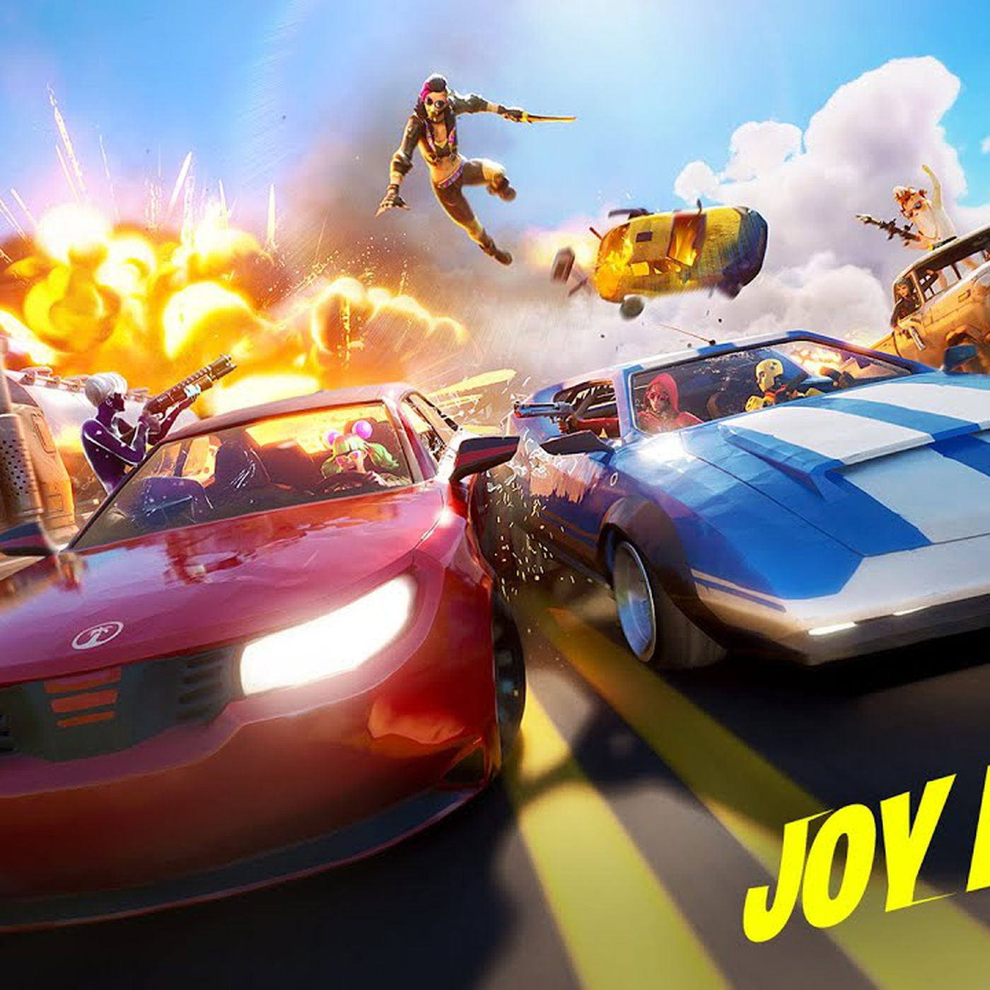 Fortnite Adds Sports Cars Pickups And Trucks With New Joy Ride