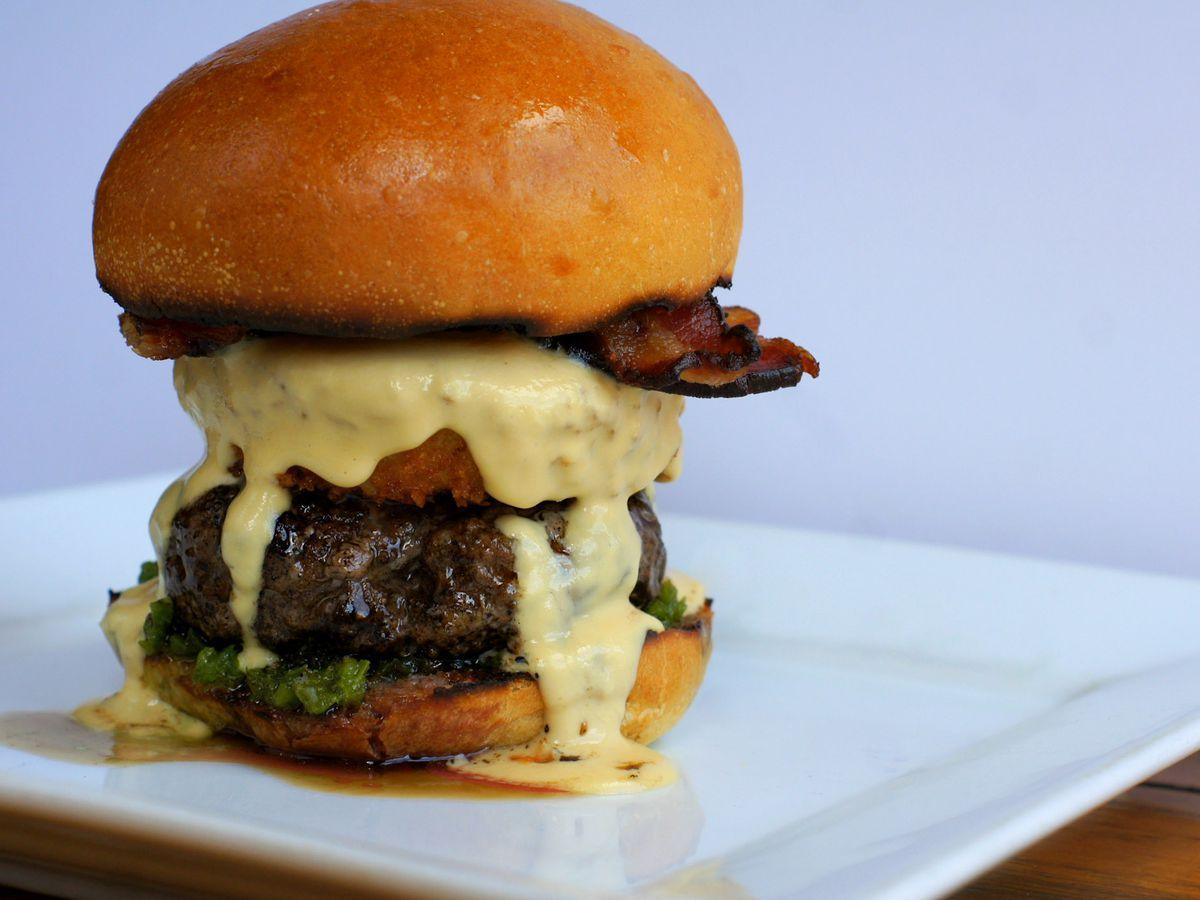 The Meadowlark burger