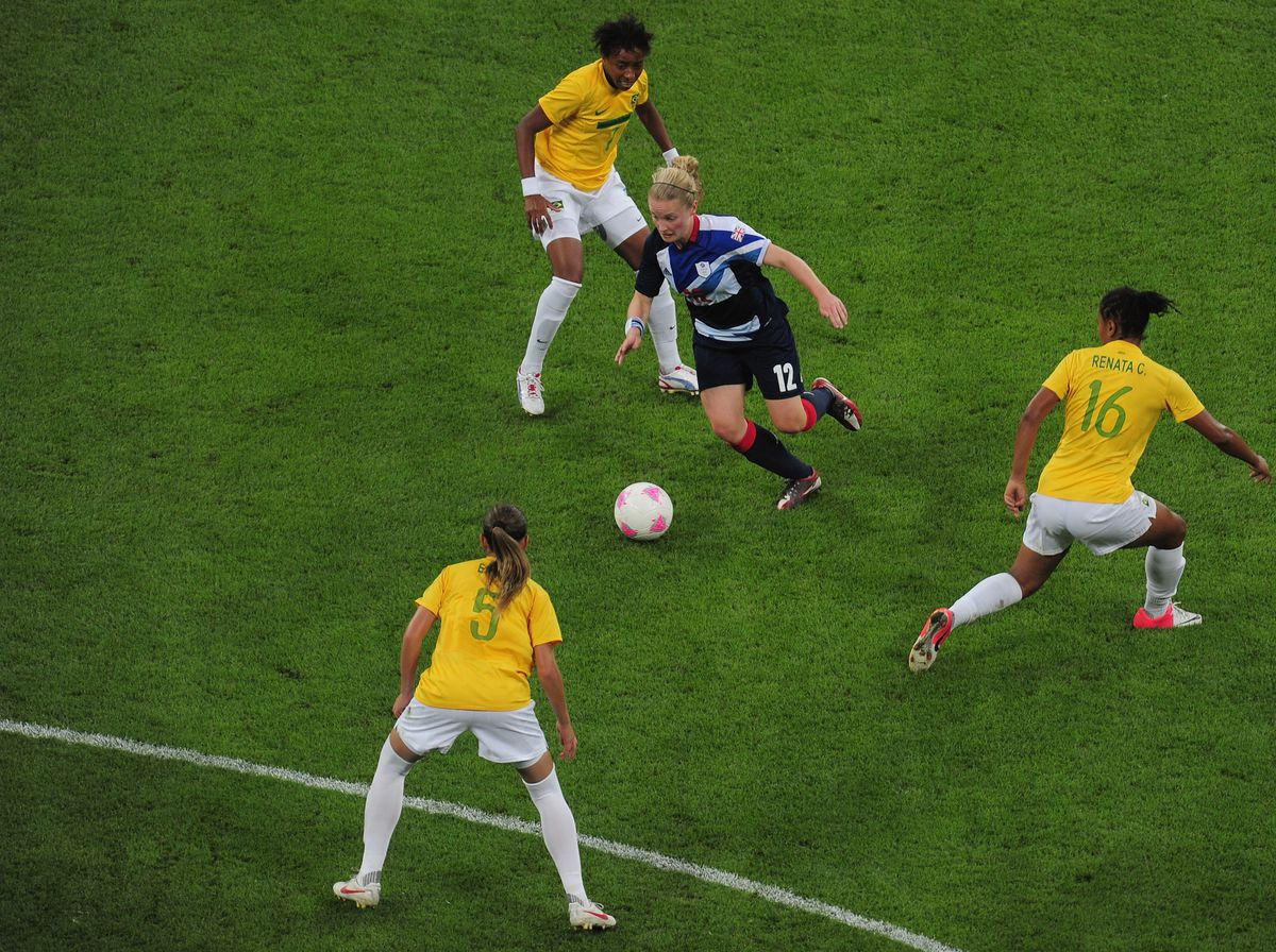 Olympics Day 4 - Women's Football - Great Britain v Brazil