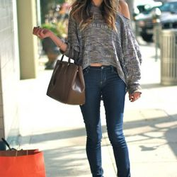 """<a href=""""http://la.racked.com/archives/2011/09/27/stevi_at_beverly_and_charleville.php"""" rel=""""nofollow"""">Stevi</a> doesn't remember where she purchased her top, the jeans are J.Brand, the shoes are from Zara, and her handbag is by Prada. <br /><br />Photo b"""