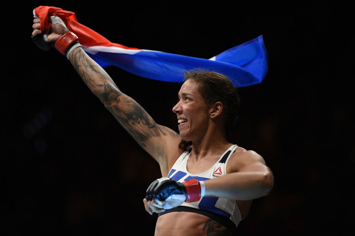 MMA: UFC Fight Night-Elmose vs de Randamie