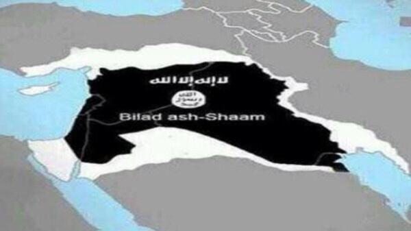 ISIS map big middle east