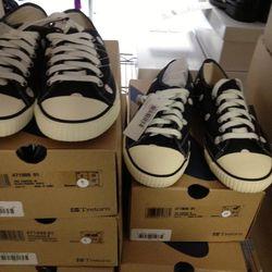 Comme des Garcons x Tretorn Sneakers, $35
