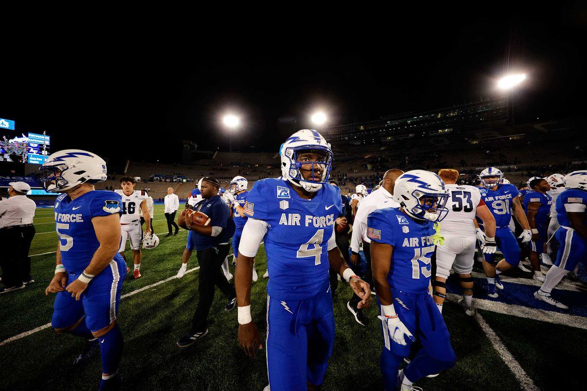 NCAA Football: Florida Atlantic at Air Force