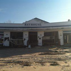 The BayHouse after Hurricane Sandy