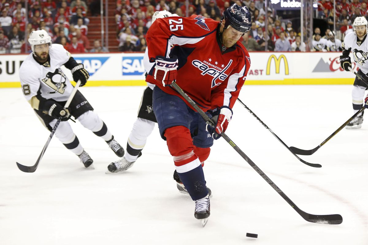 Jason Chimera is a different type of fourth liner than Matt Martin, but aging likely makes him worse overall.