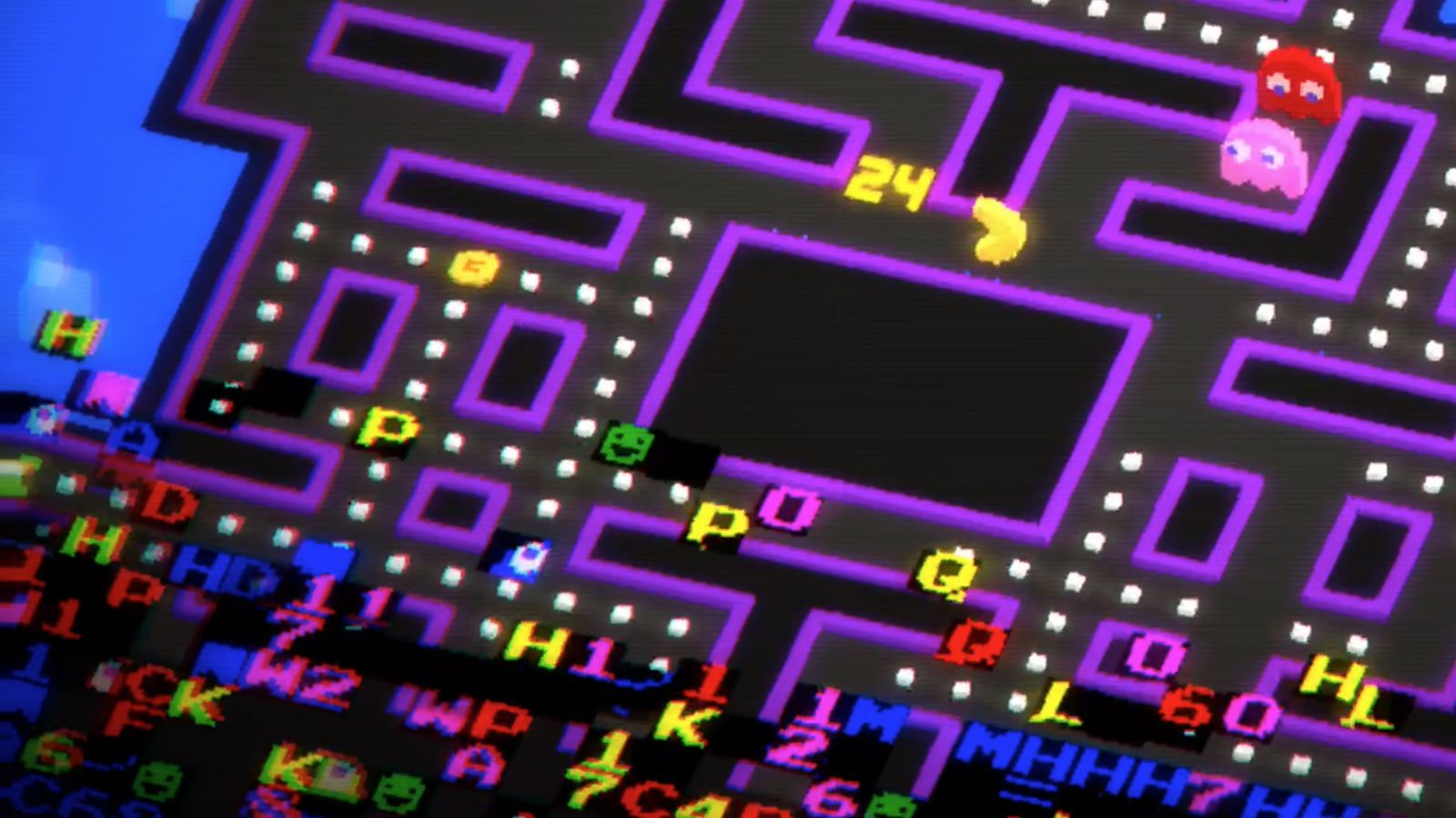 Pac-Man 256 is the Cro...