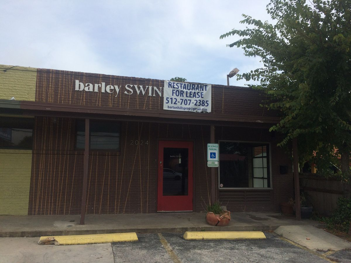 Barley Swine's old location on South Lamar for rent.
