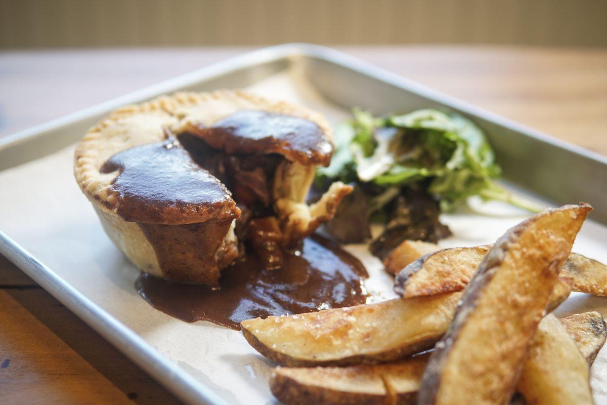 A pie from Darcy's Donkey