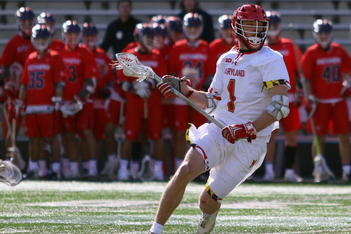 Maryland lacrosse Jared Bernhardt vs. Richmond