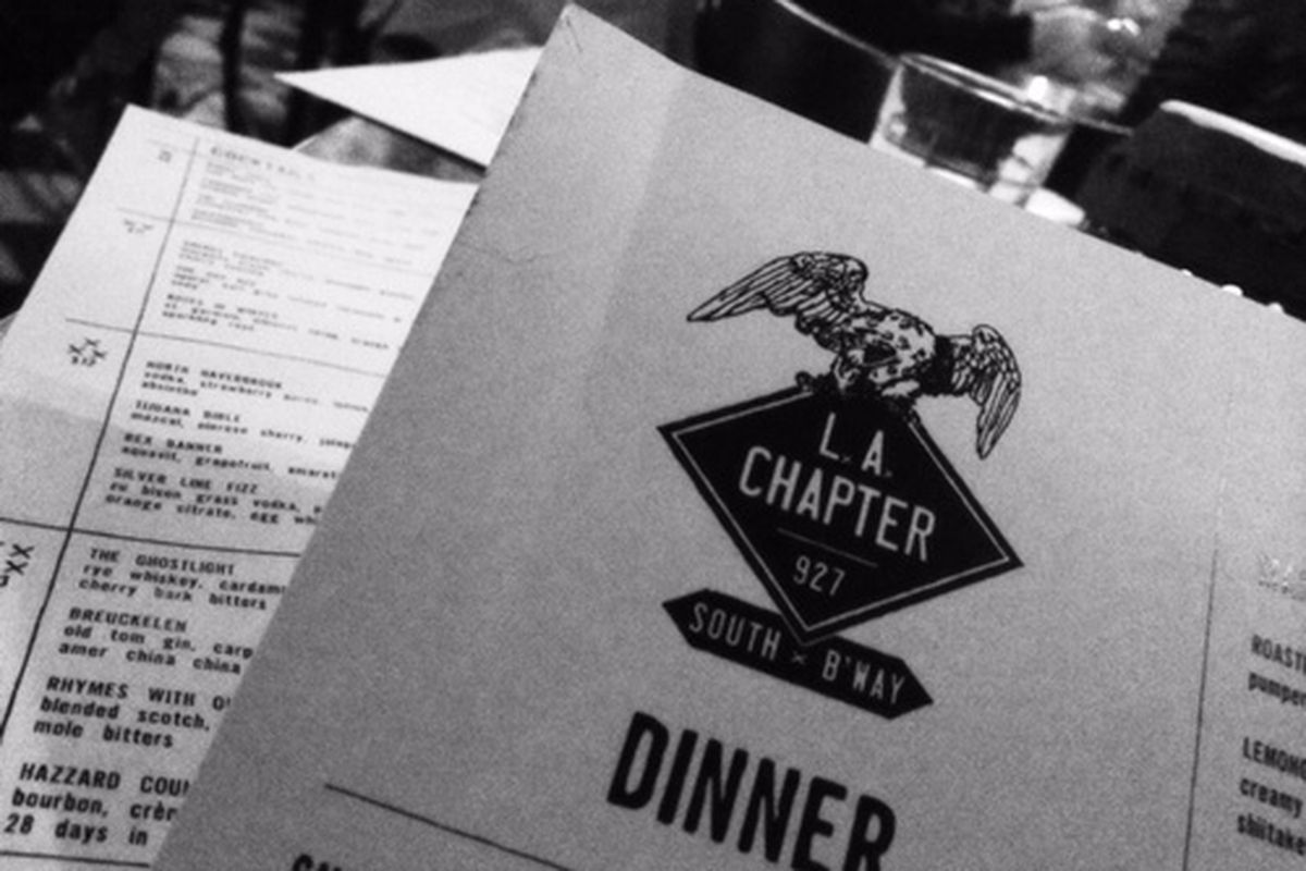 LA Chapter at the Ace Hotel, Downtown.