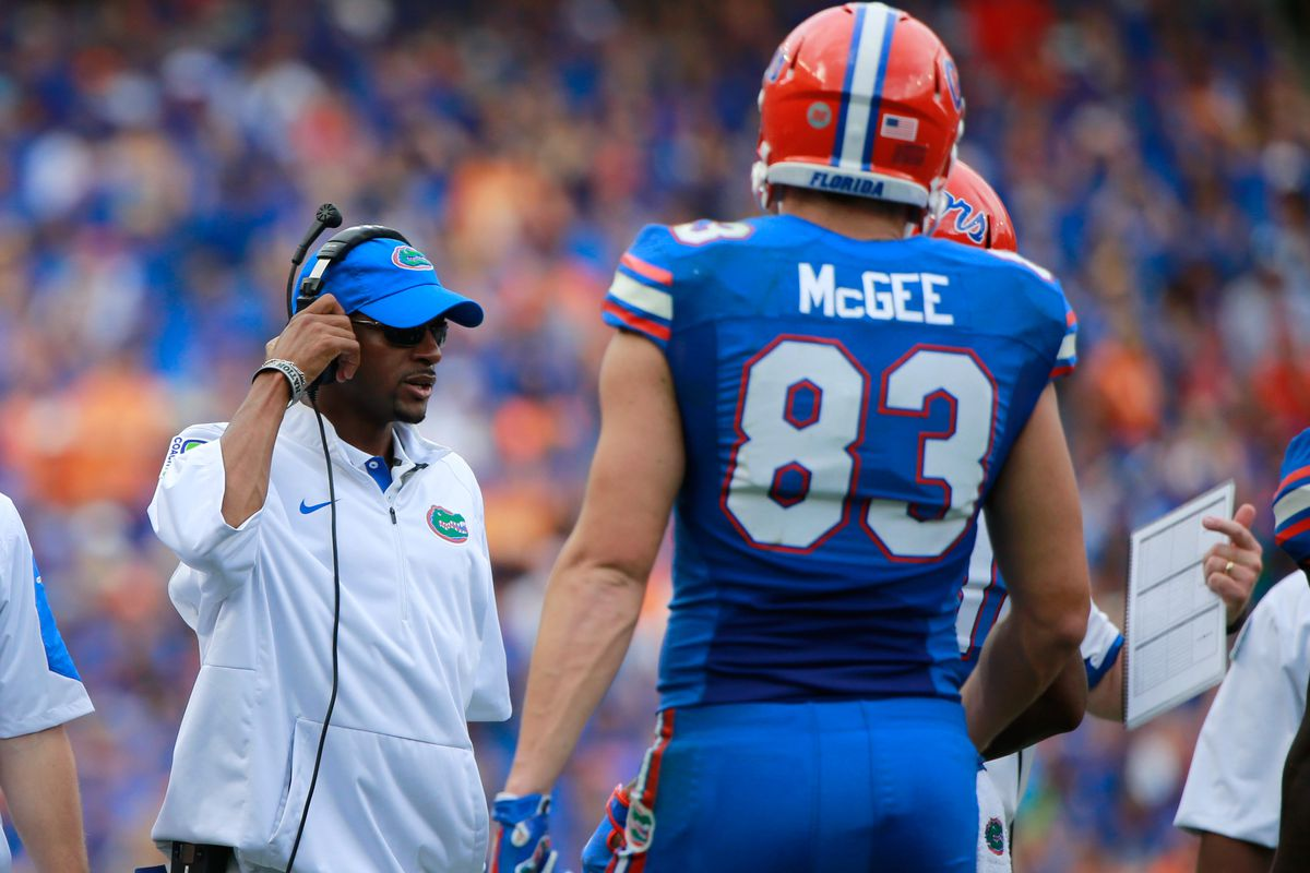 Florida wide receivers coach Kerry Dixon should have much more to work with soon.