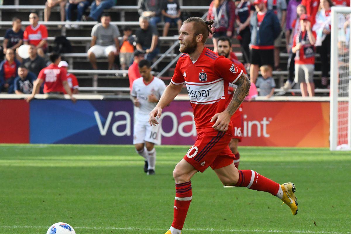 MLS - Chicago Fire - Aleksandar Katai