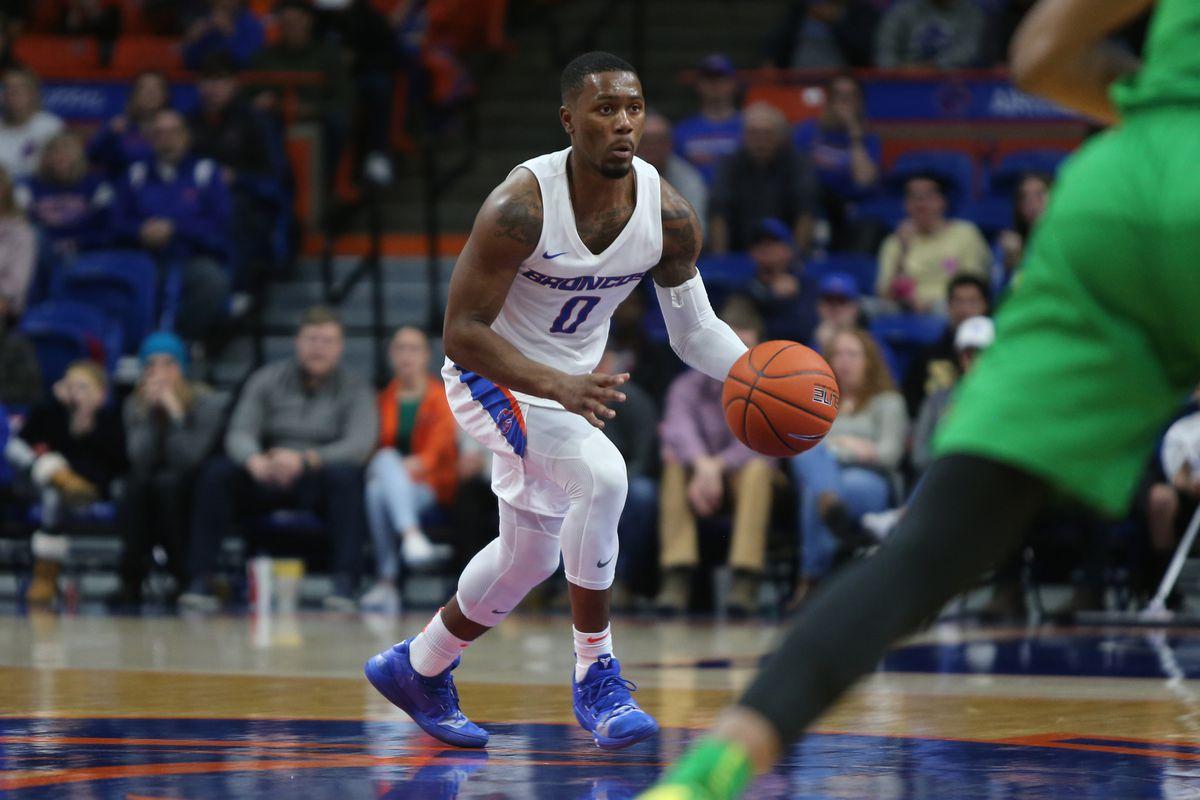NCAA Basketball: Oregon at Boise State
