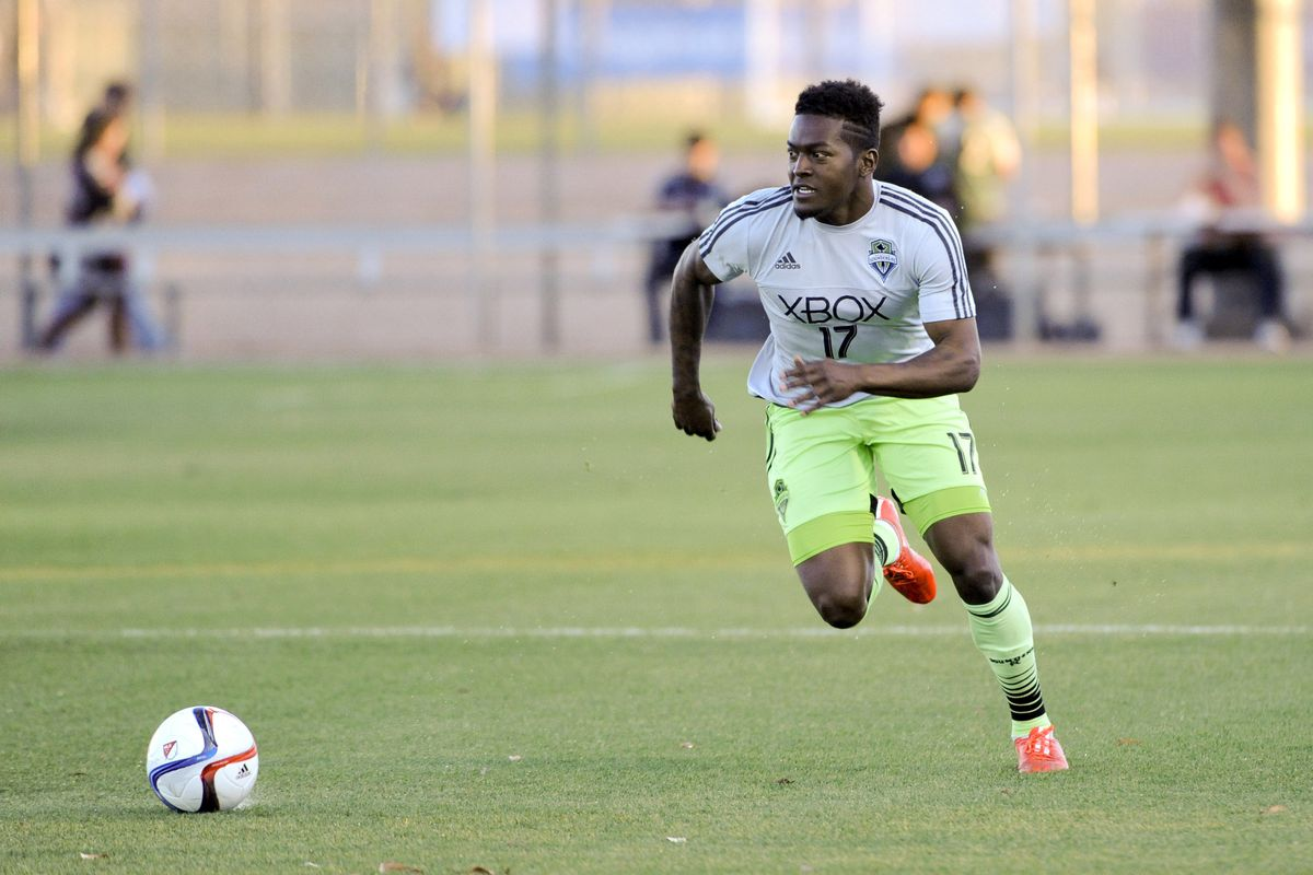 Jones: The Homegrown rookie on loan to S2 is an exciting newcomer to the pro ranks.