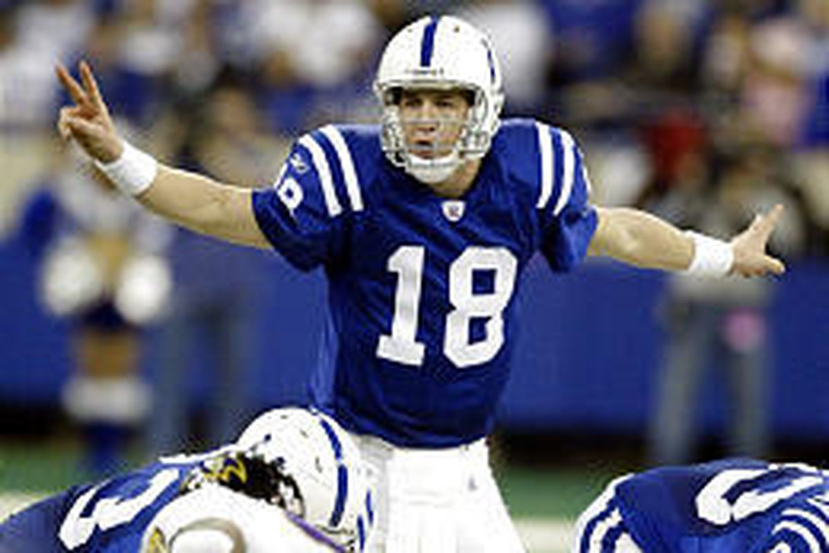 Indianapolis Colts quarterback Peyton Manning was a unanimous choice for the All-Pro team, which was announced Thursday.