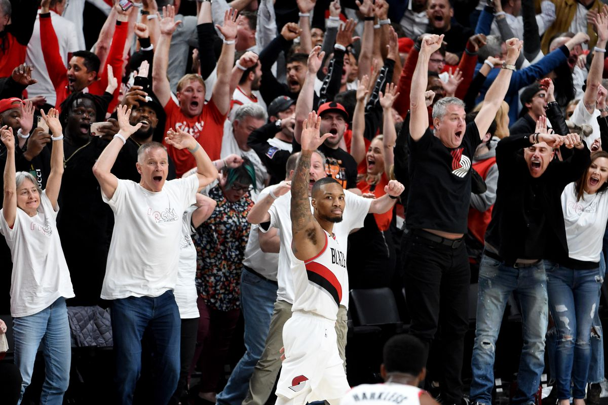 low priced 4175a 134af Podcast] Andrew Sharp of Sports Illustrated on Blazers Fans ...