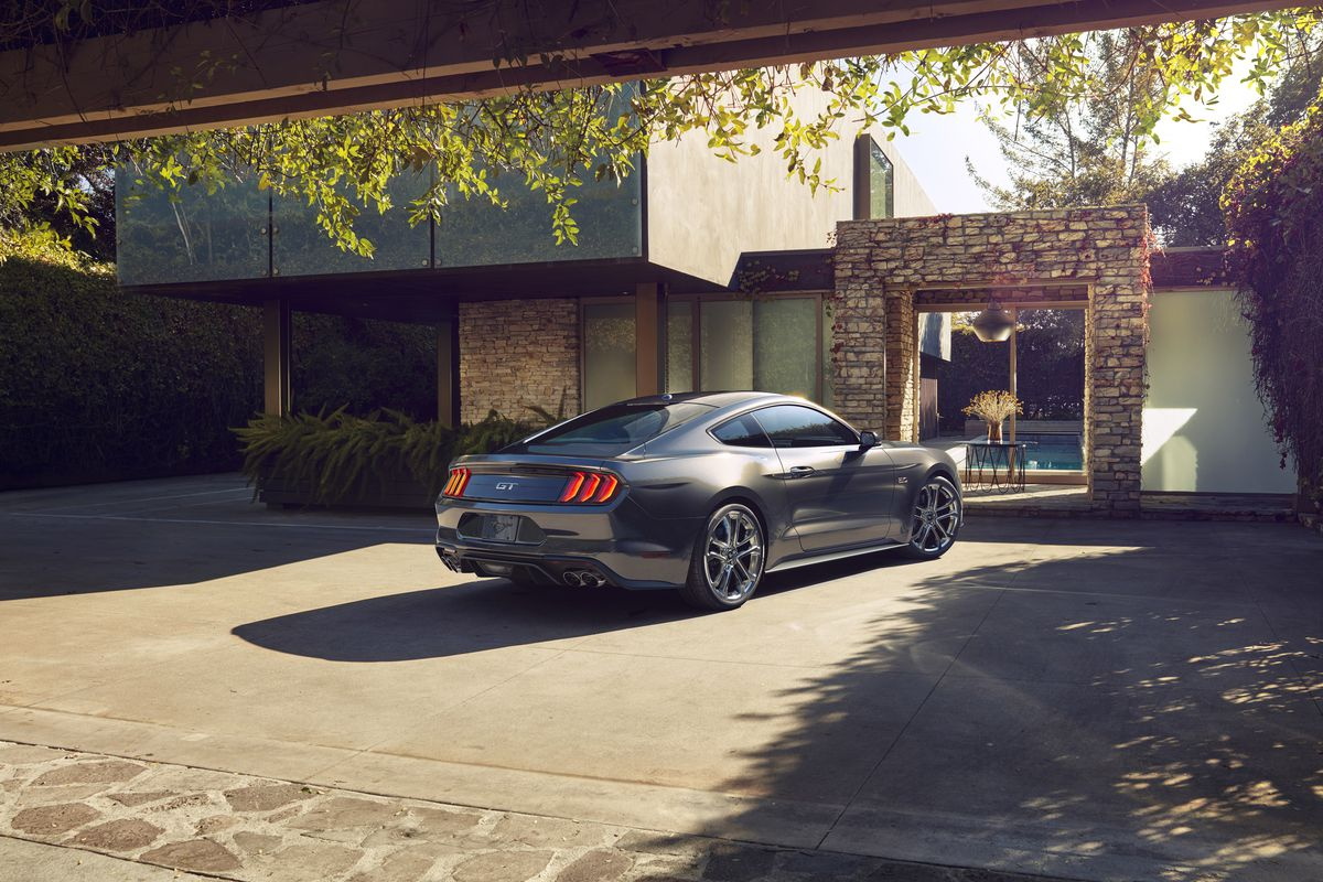 Ford's newest Mustang drops the V6 engine for the first time in