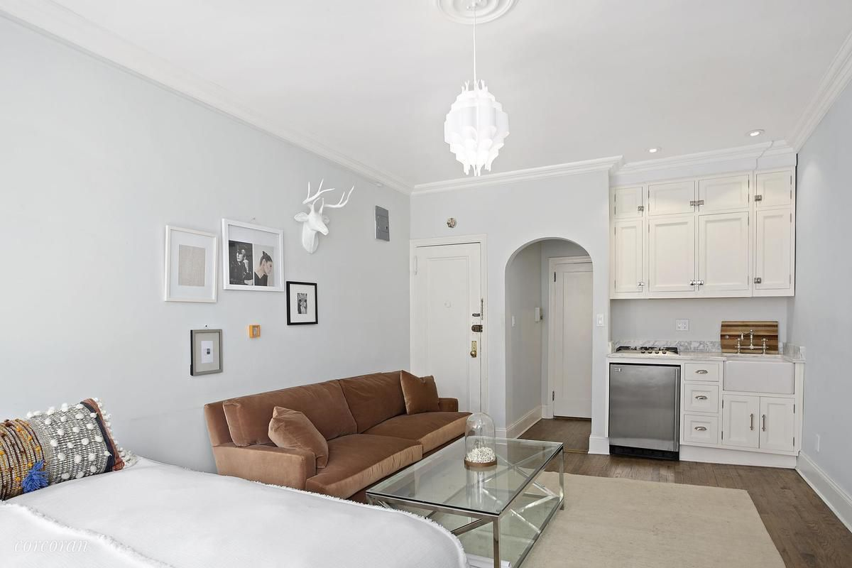 How much for a petite West Village studio with a modern makeover ...