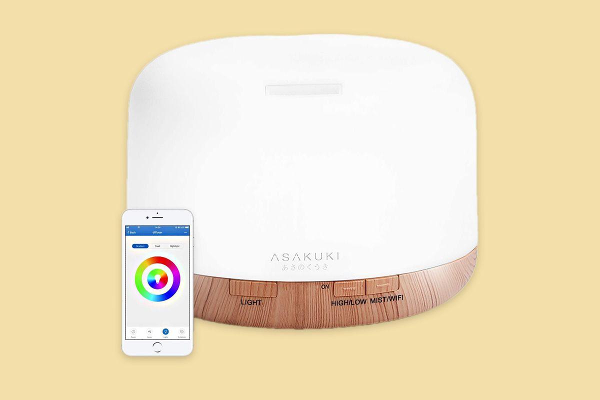 ASAKUKI Smart Wi-Fi Essential Oil Diffuser Mother's Day 2020