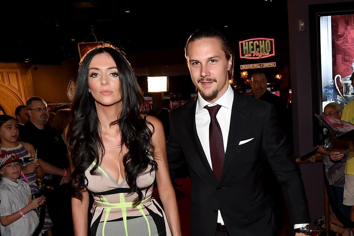 Melinda Karlsson With Her Husband Erik Photo By Ethan Miller Getty Images