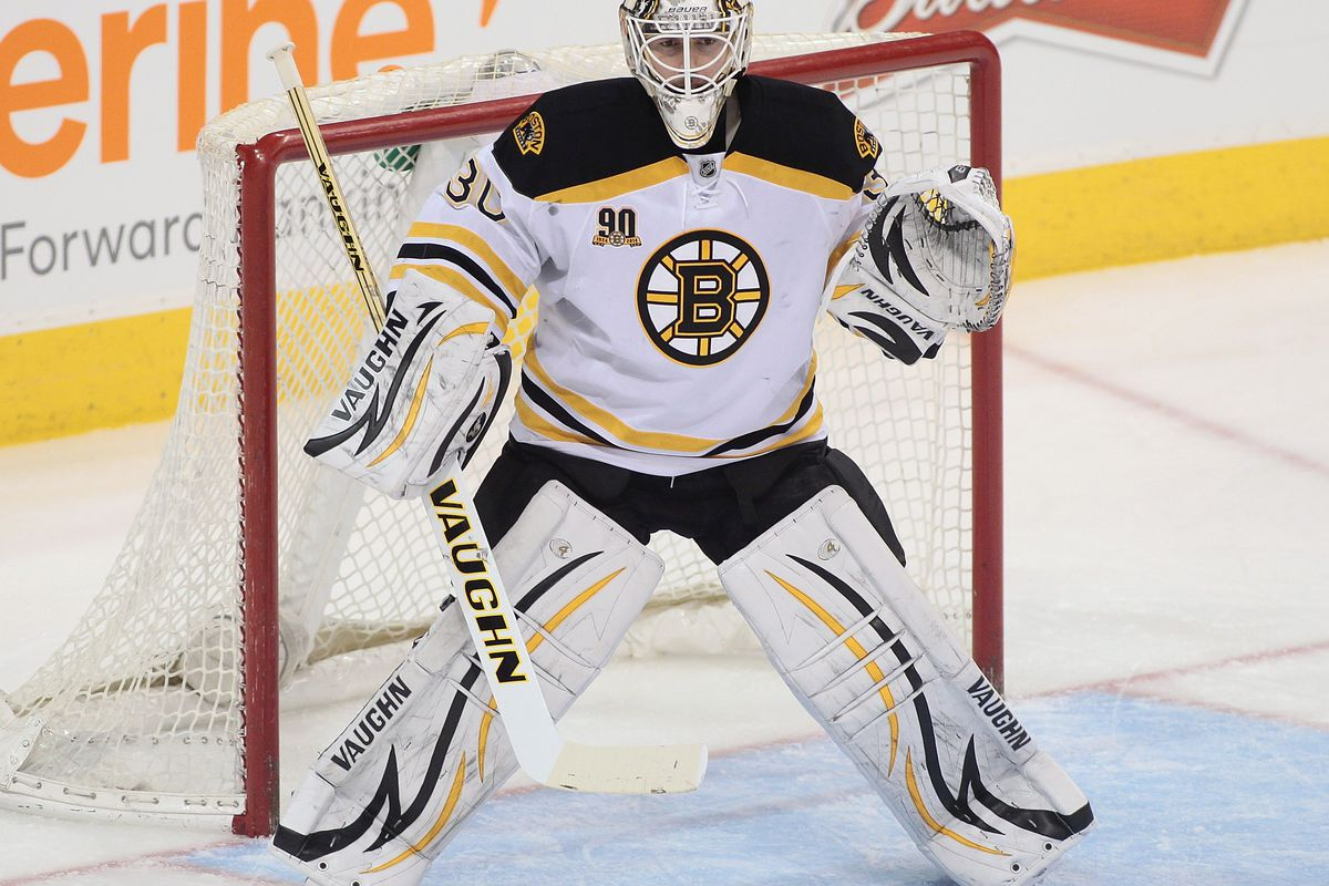 Chad Johnson - from Bruins backup to Flames Starter