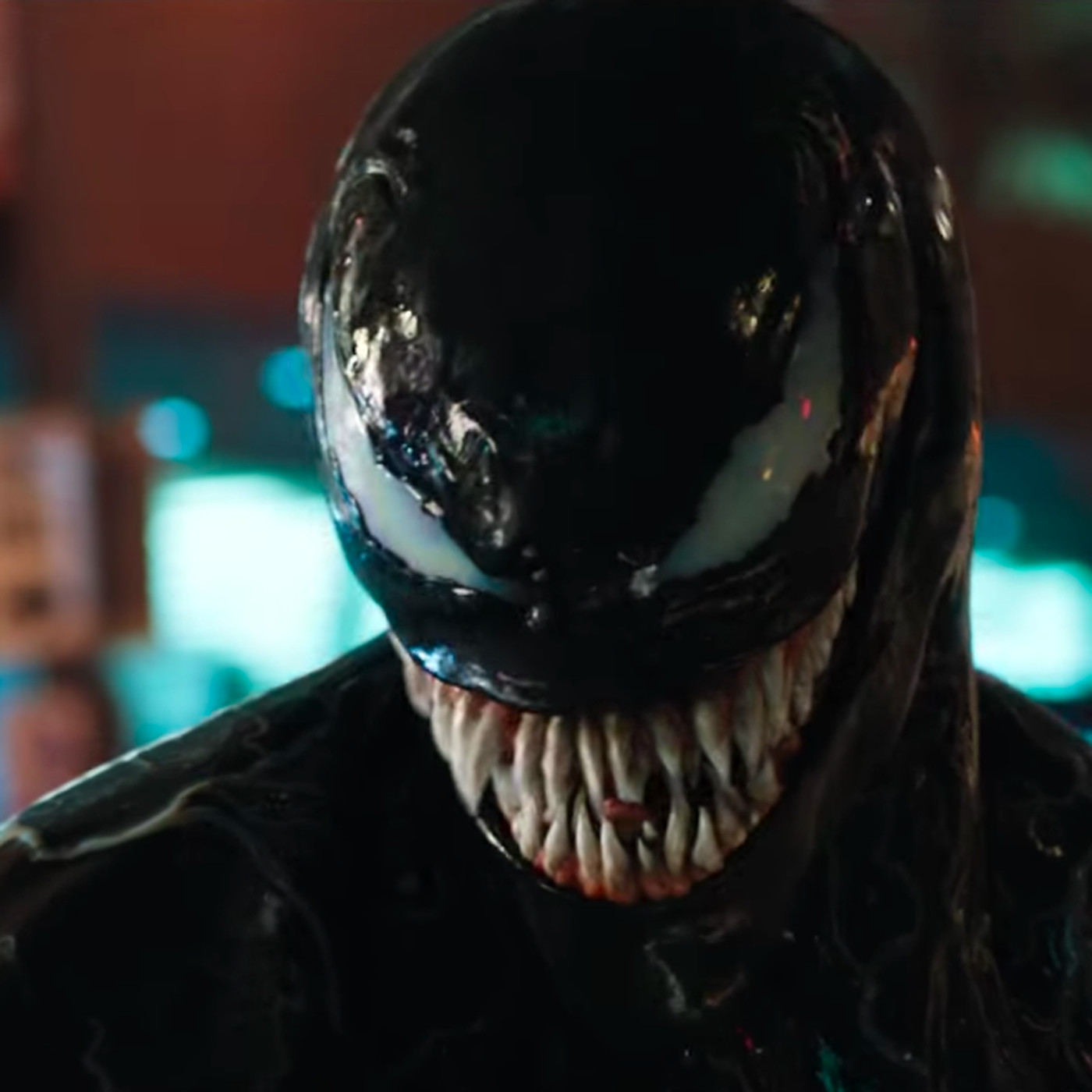 Venom Reveal New Trailer Shows Us Tom Hardy S Toothy Antihero At