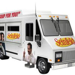 """<a href=""""http://eater.com/archives/2012/07/24/behold-a-seinfeldthemed-no-soup-for-you-truck.php"""">Behold a Seinfeld-Themed 'No Soup For You' Truck</a>"""