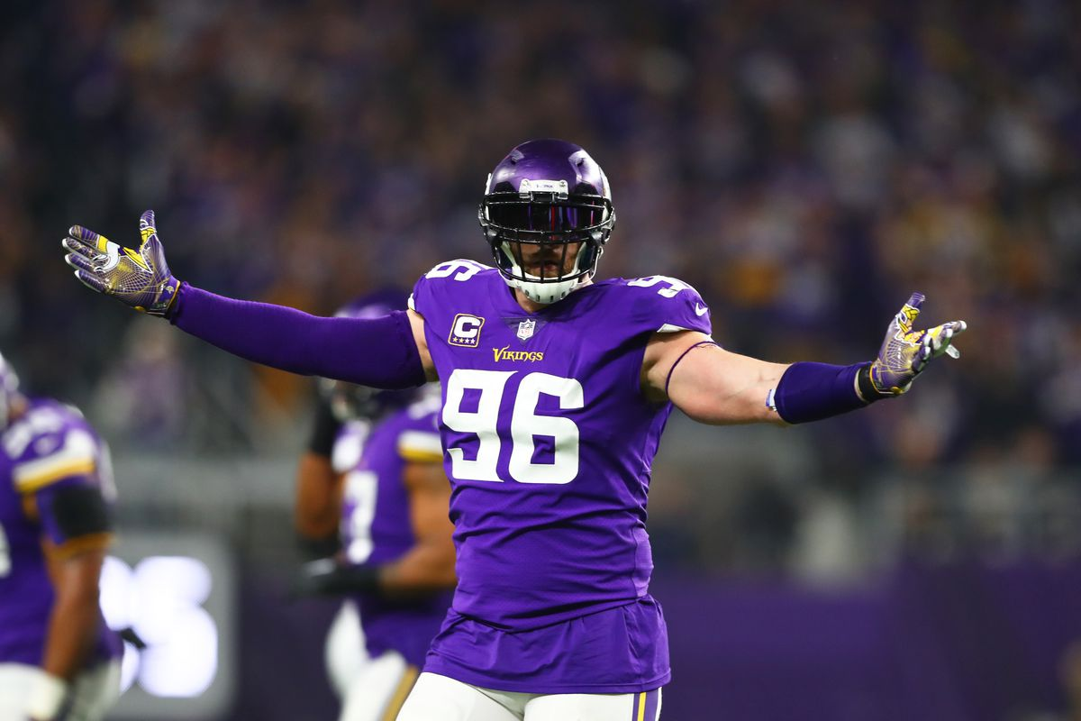 Brian Robison signs a one day contract and retires as a member of ...