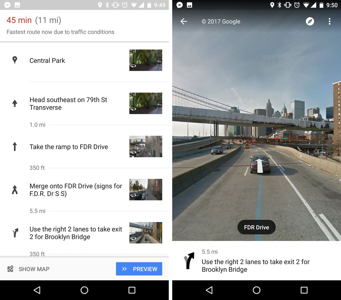 Google Maps Now Uses Street View To Show You Exactly Where To Make
