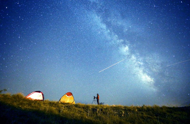 GettyImages-483793568 The Perseid meteor shower peaks this weekend. Here's how to catch the spectacular show.