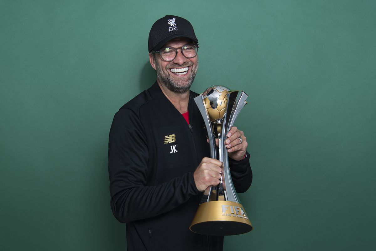 FIFA Club World Cup Winners Portrait Session