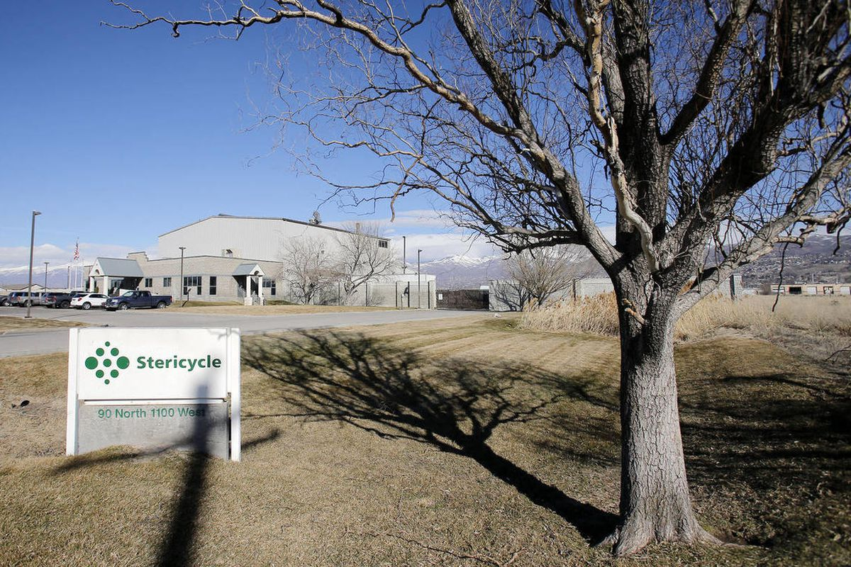 Stericycle's North Salt Lake facilities Tuesday, Feb. 25, 2014.