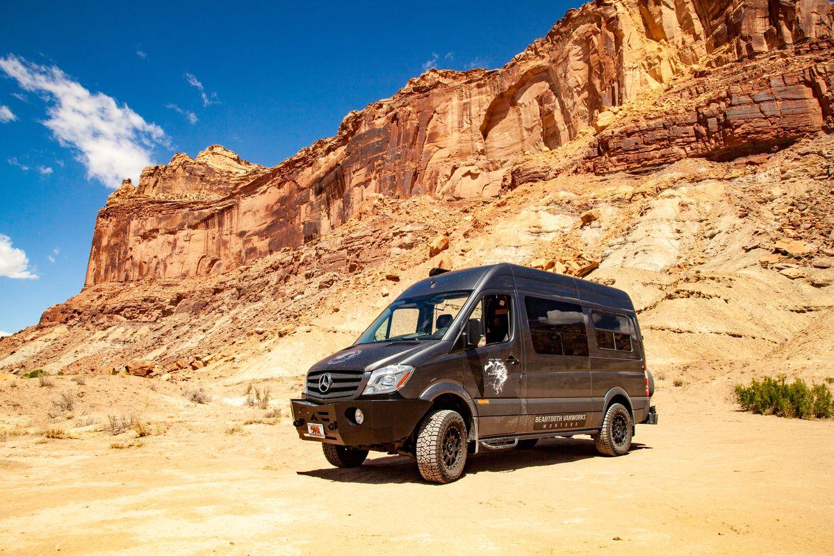 33f95115c997 Sleek camper van is an adventure cabin on wheels - Curbed