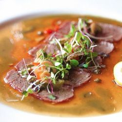 """Beef Tataki at Osaka by <a href=""""http://www.flickr.com/photos/lala010/8519625181/in/pool-1844845@N22"""">lala010</a>."""