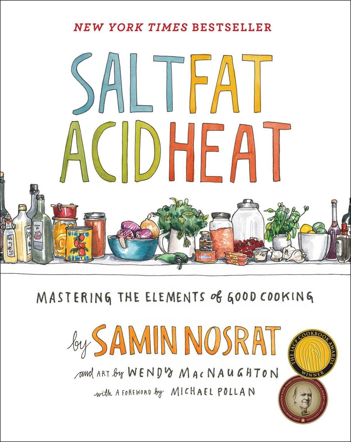 "The cover of ""Salt, Fat, Acid, Heat"""