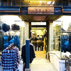 """Now that you've exercised your lungs and limbs, flex your wallet and walk over to designer-filled boutique <a href=""""http://www.libraryla.com"""">Library</a> (121 1/2 N Larchmont Blvd). There, pick up denim from J Brand, luxe basics from LA's own A.L.C. and m"""