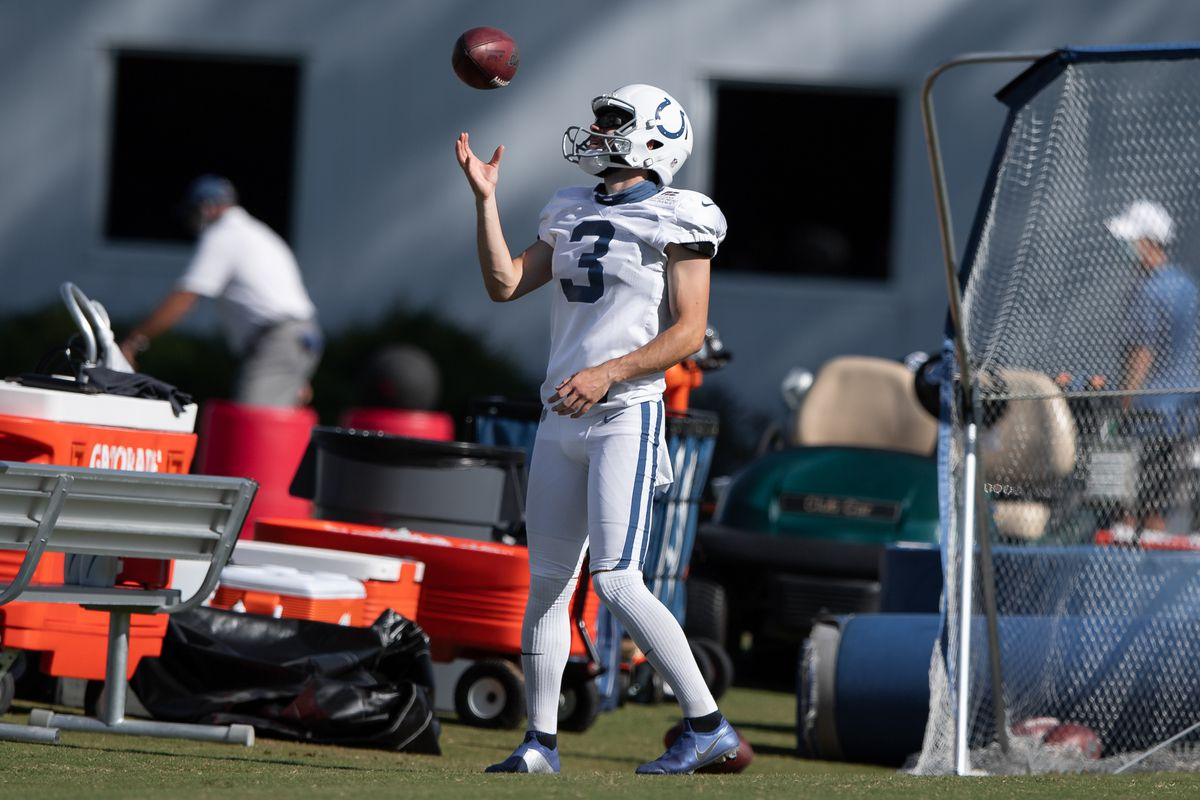 NFL: AUG 22 Colts Training Camp