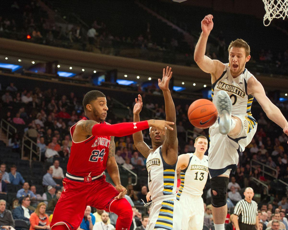 NCAA Basketball: Big East Conference Tournament-Marquette vs St. John's