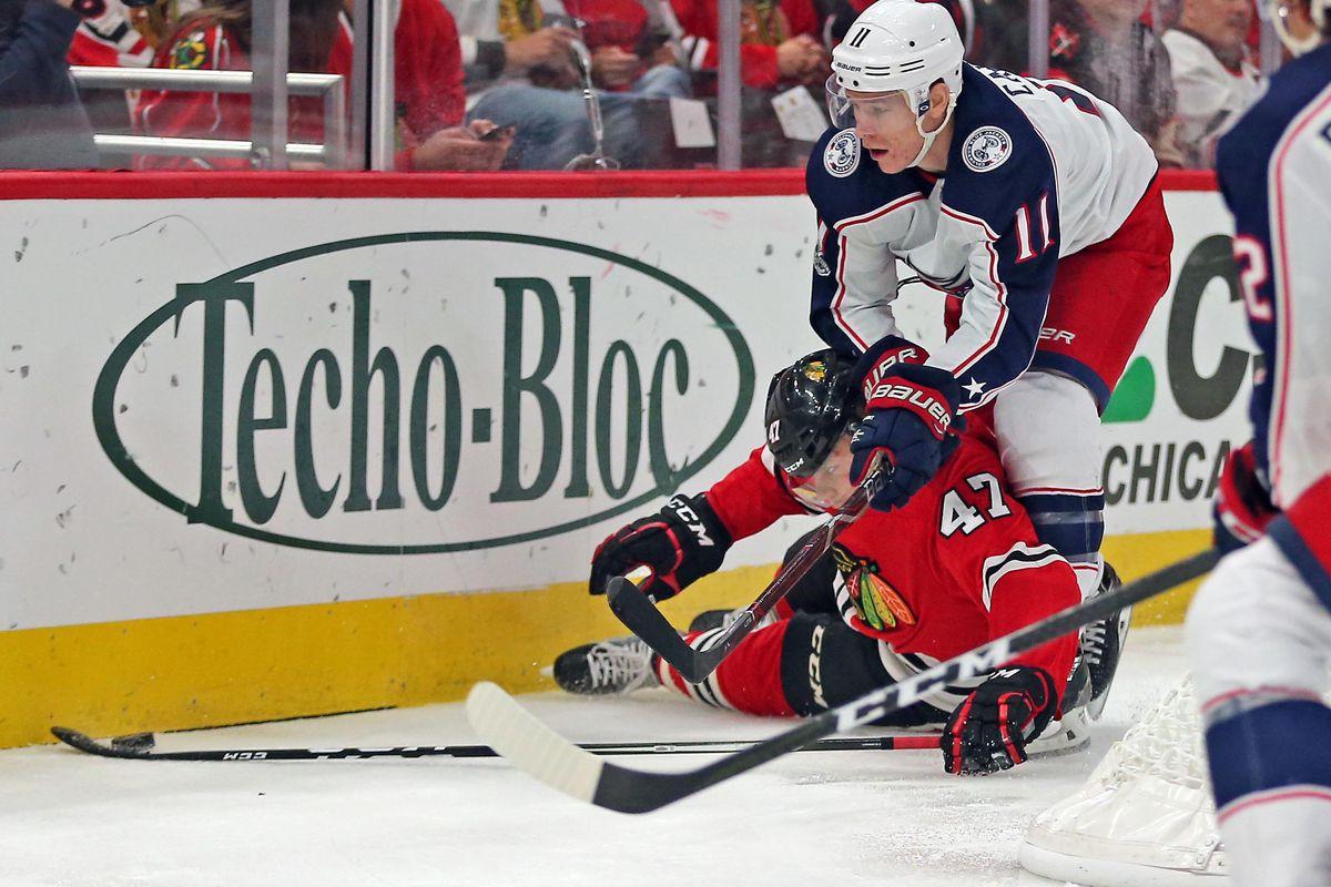 Blackhawks vs. Blue Jackets recap and highlights 2017 - Second ...