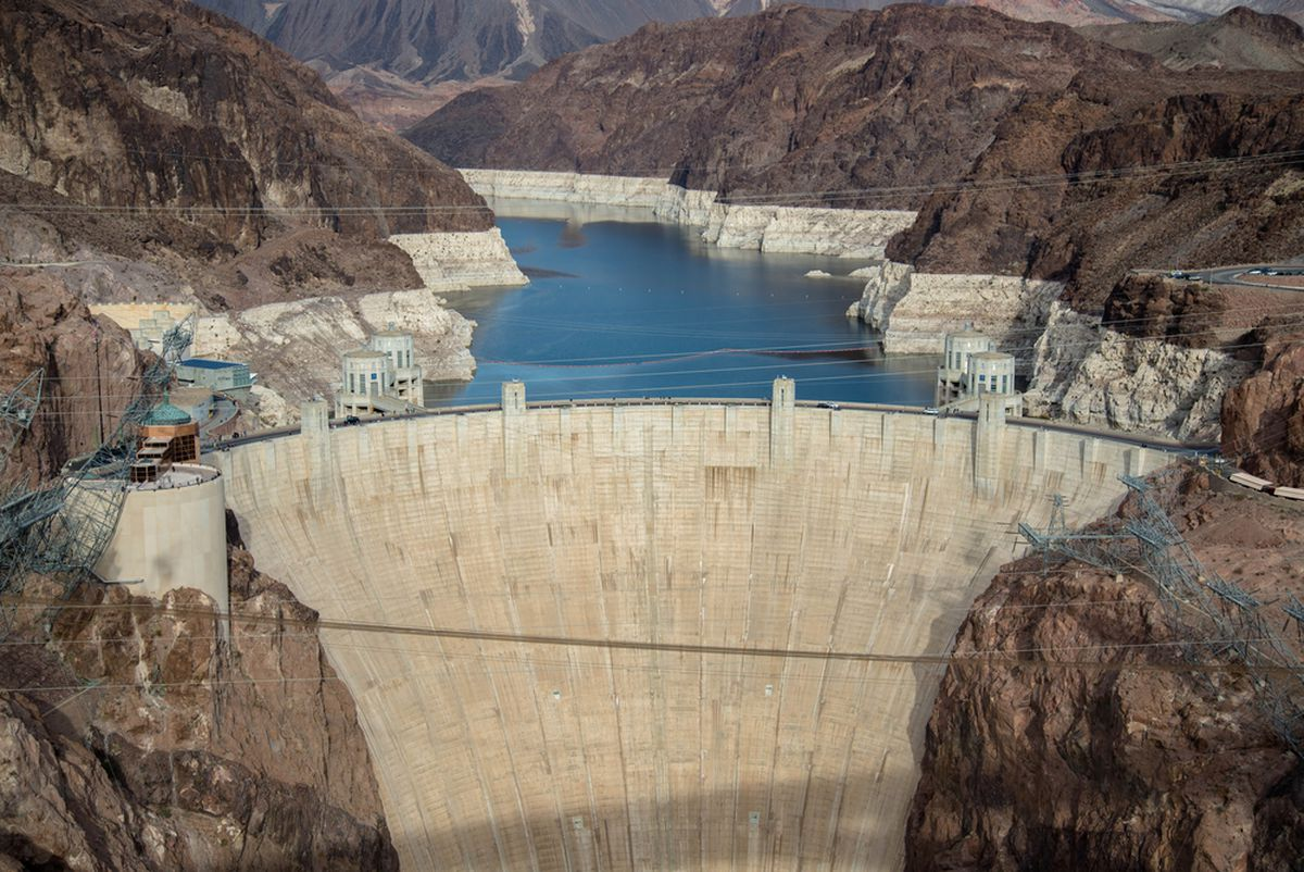 "Construction History of Hoover Dam ""The Greatest Dam in ... 
