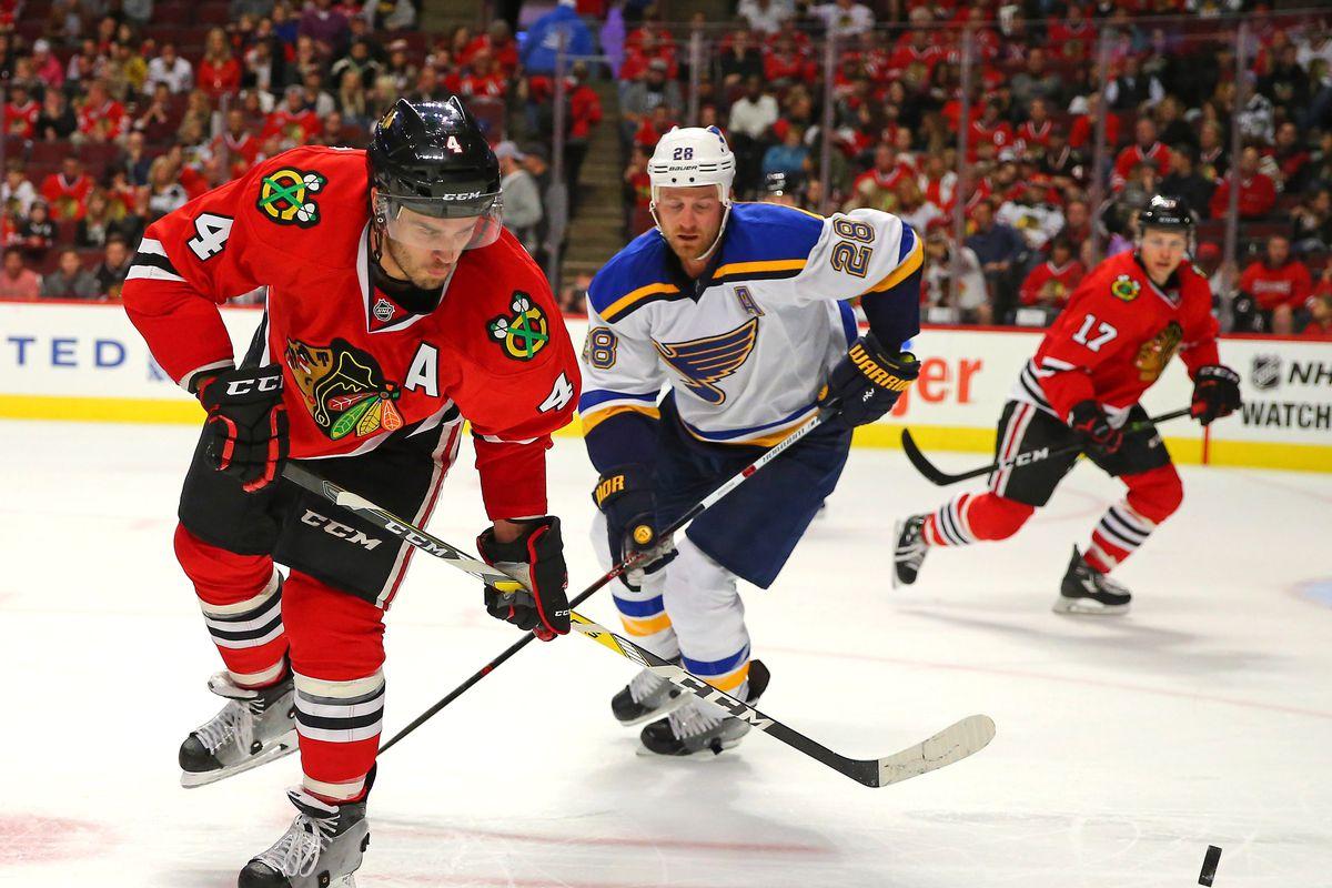 NHL: Preseason-St. Louis Blues at Chicago Blackhawks