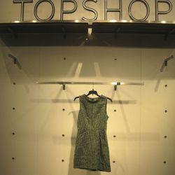 Tweedy sheath dress, $130.