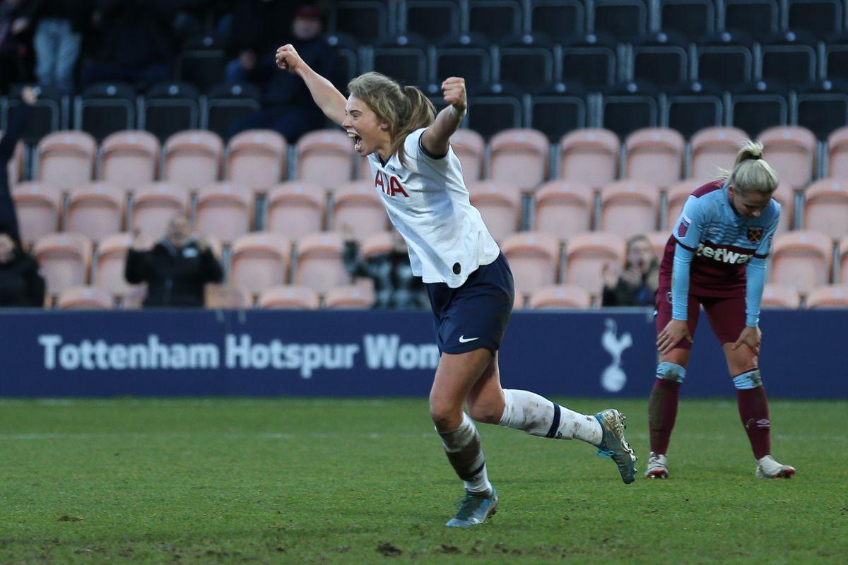 Tottenham Hotspur v West Ham United - Barclays Women's Super League