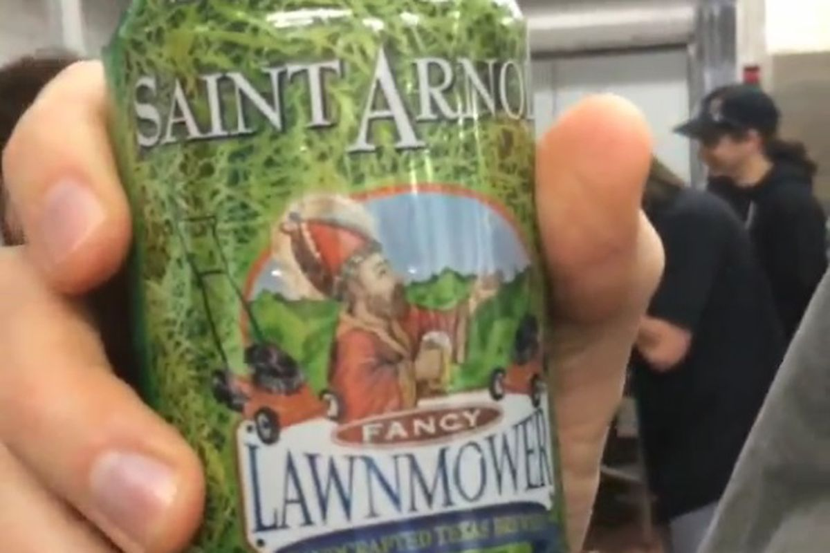 Saint Arnold beer in a can is no longer a fantasy.