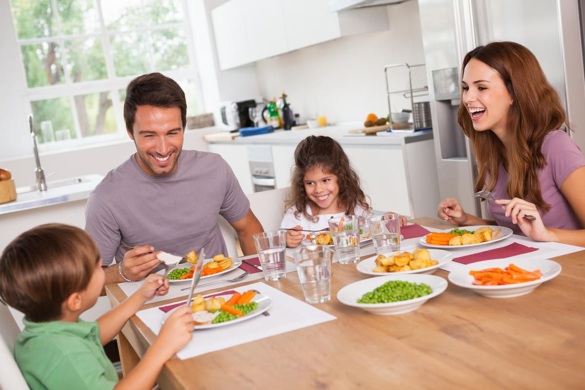 Quiz: Eating dinner together: What's your family's grade ...