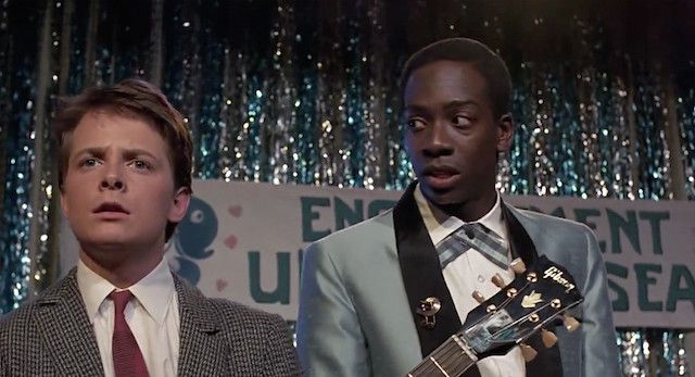 Back to the Future racism