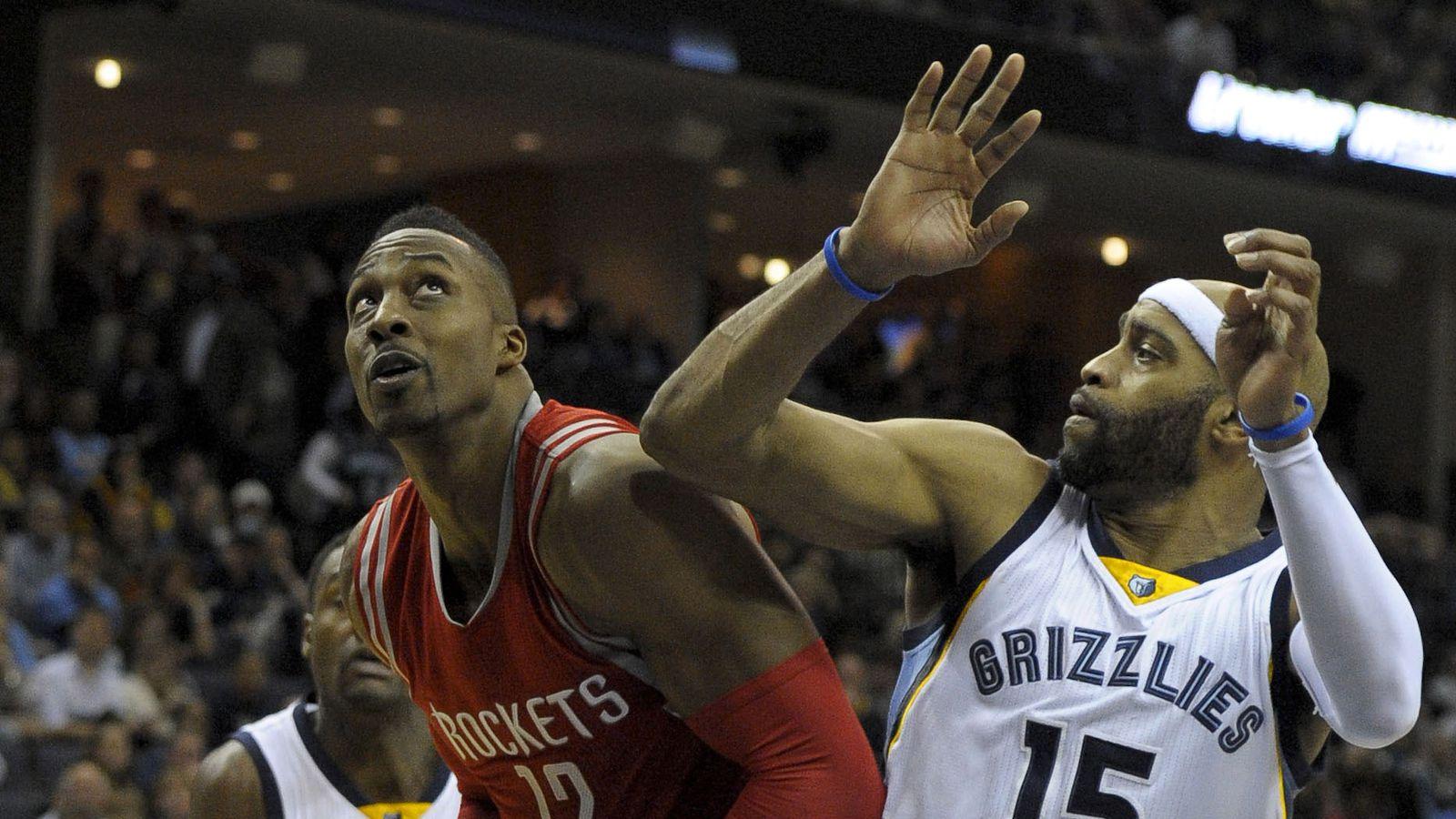 Houston Rockets vs. Memphis Grizzlies preseason game ...